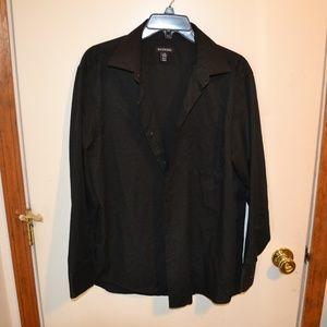 George dress shirt lg 32--33 black
